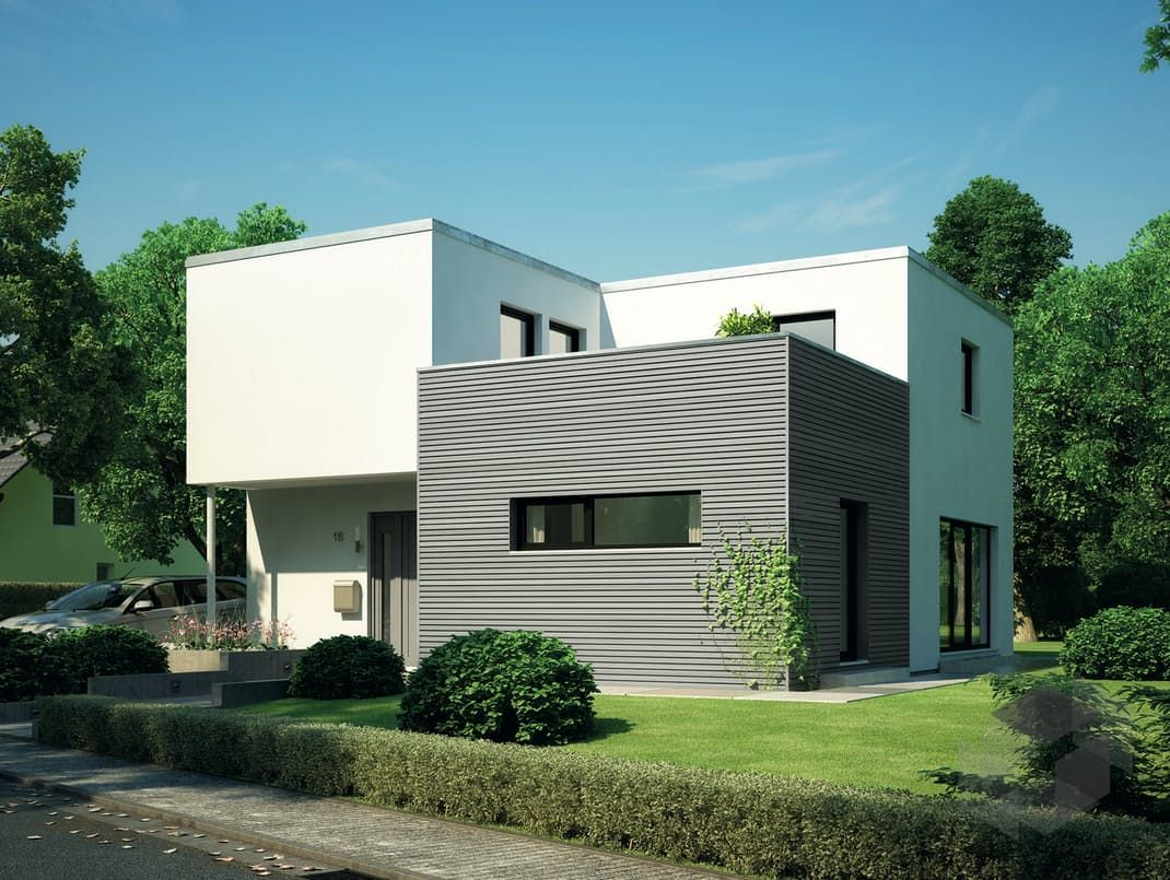 cubus 162 von hanse haus alle h user unter fertighaus. Black Bedroom Furniture Sets. Home Design Ideas