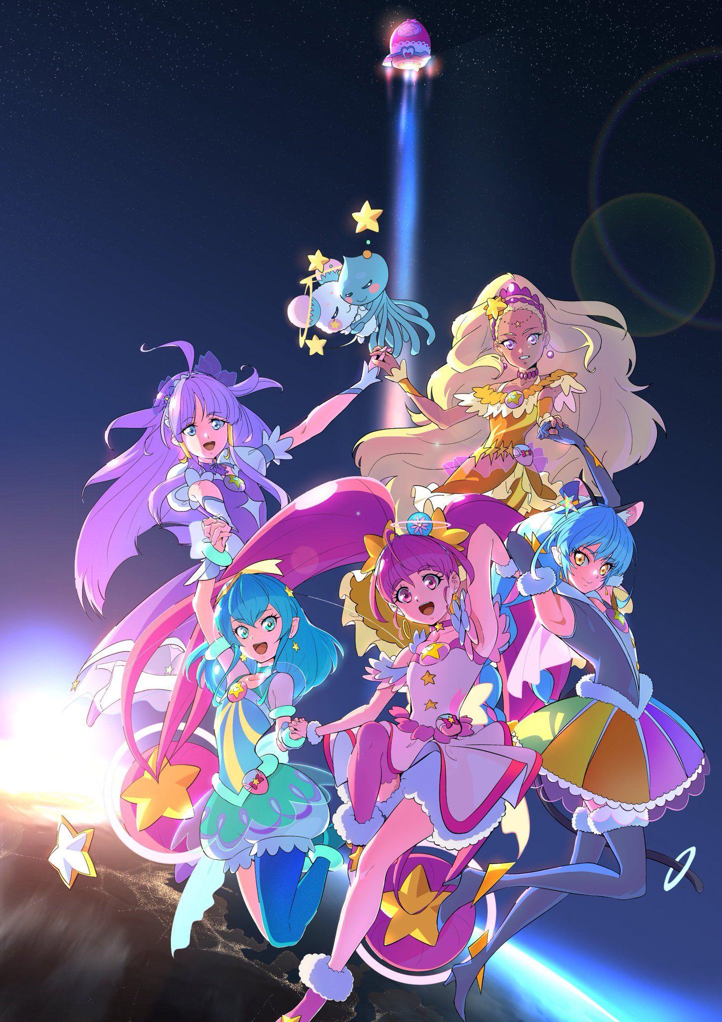 ぬこさん。 on Anime, Pretty cure, Magical girl