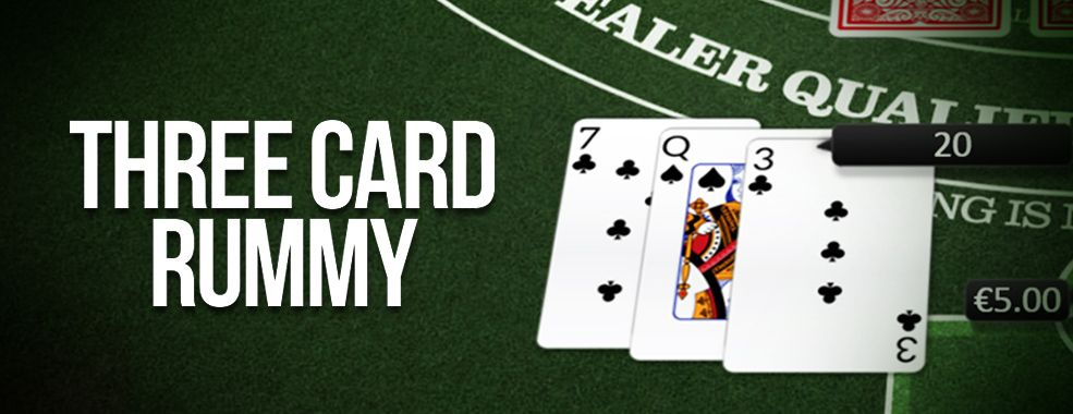 How to play three card rummy rummy cards rummy game