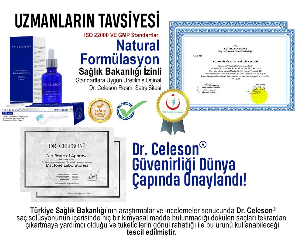 Dr Celeson Sac Dokulmelerine Sacsizliga Kellige Son Dr Celeson