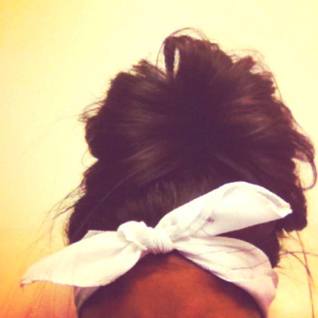 Bun + bow