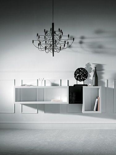 Mueble para recibidores , de estilo minimalista Casas Minimalistas - mueble minimalista