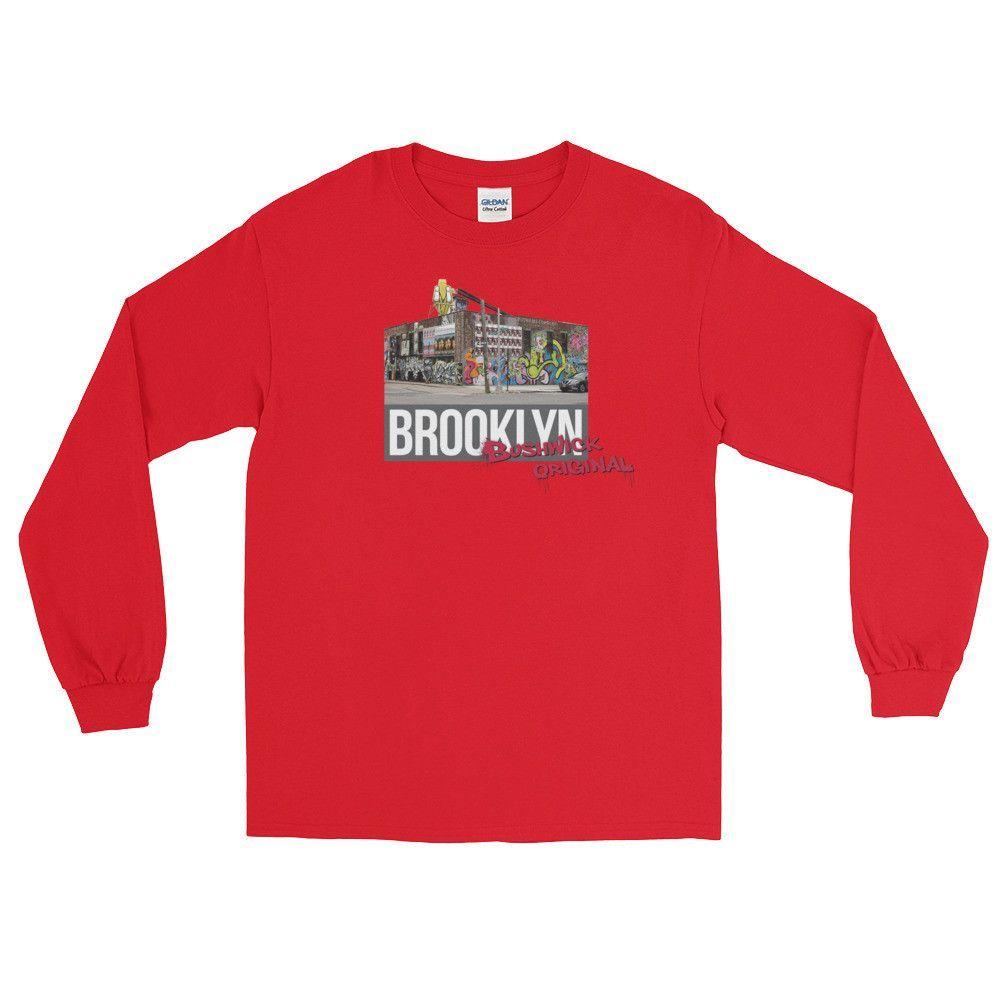 Bushwick Original Long Sleeve T-Shirt - Red