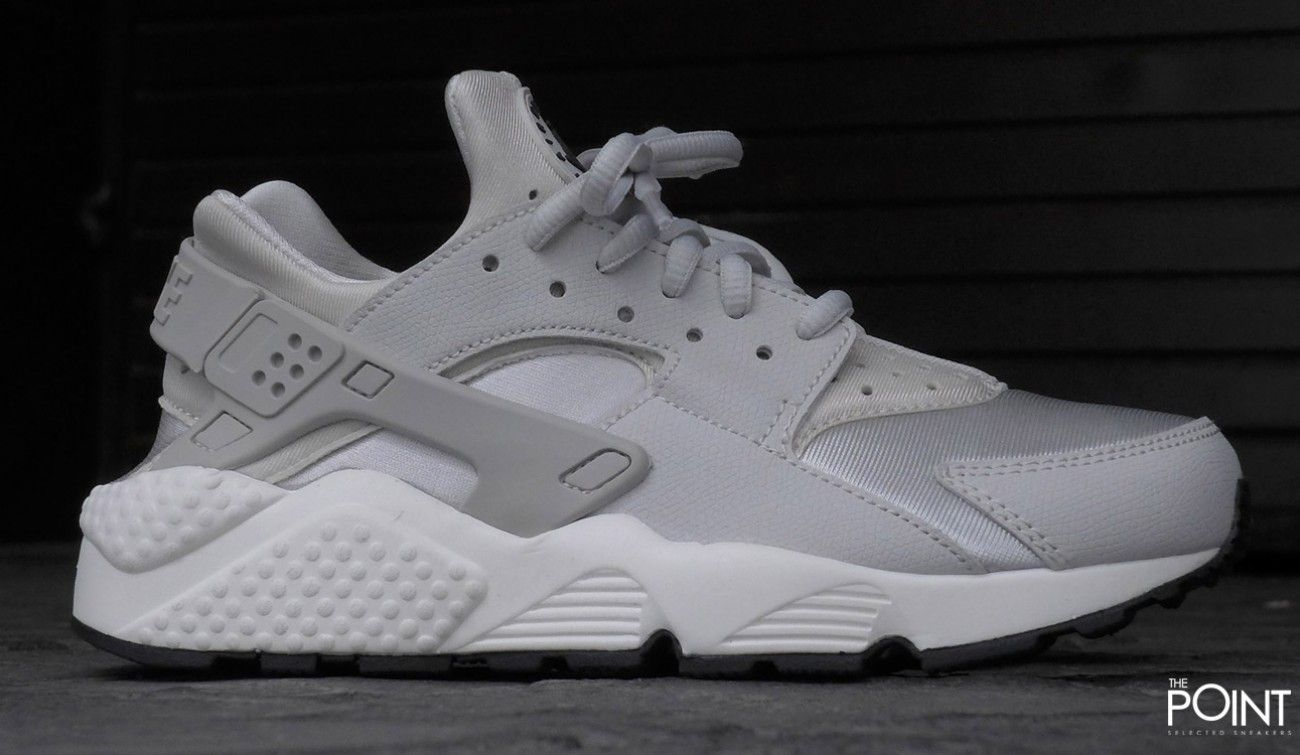 nike air huarache grise et rose