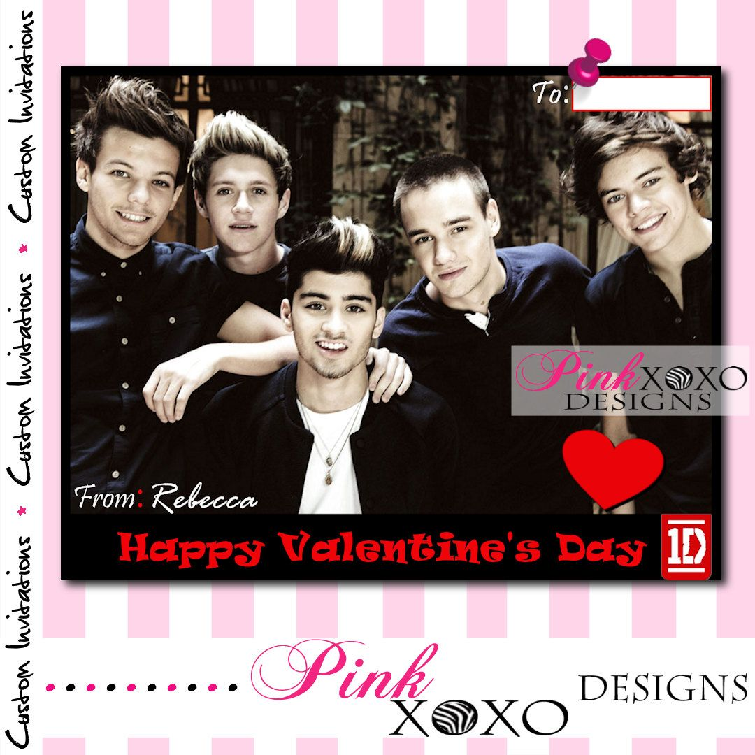 personalized valentines day card
