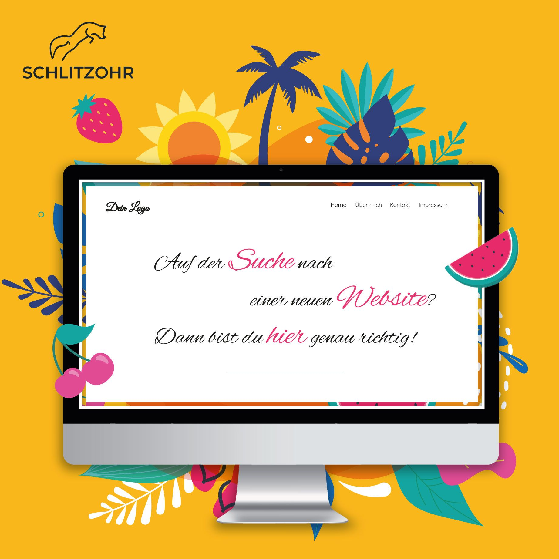 Deine neue Webseite von Schlitzohr – Design