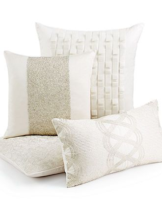 Macy's Decorative Pillows Endearing Hotel Collection Bedding Finest Luster Decorative Pillows  Bedding Inspiration