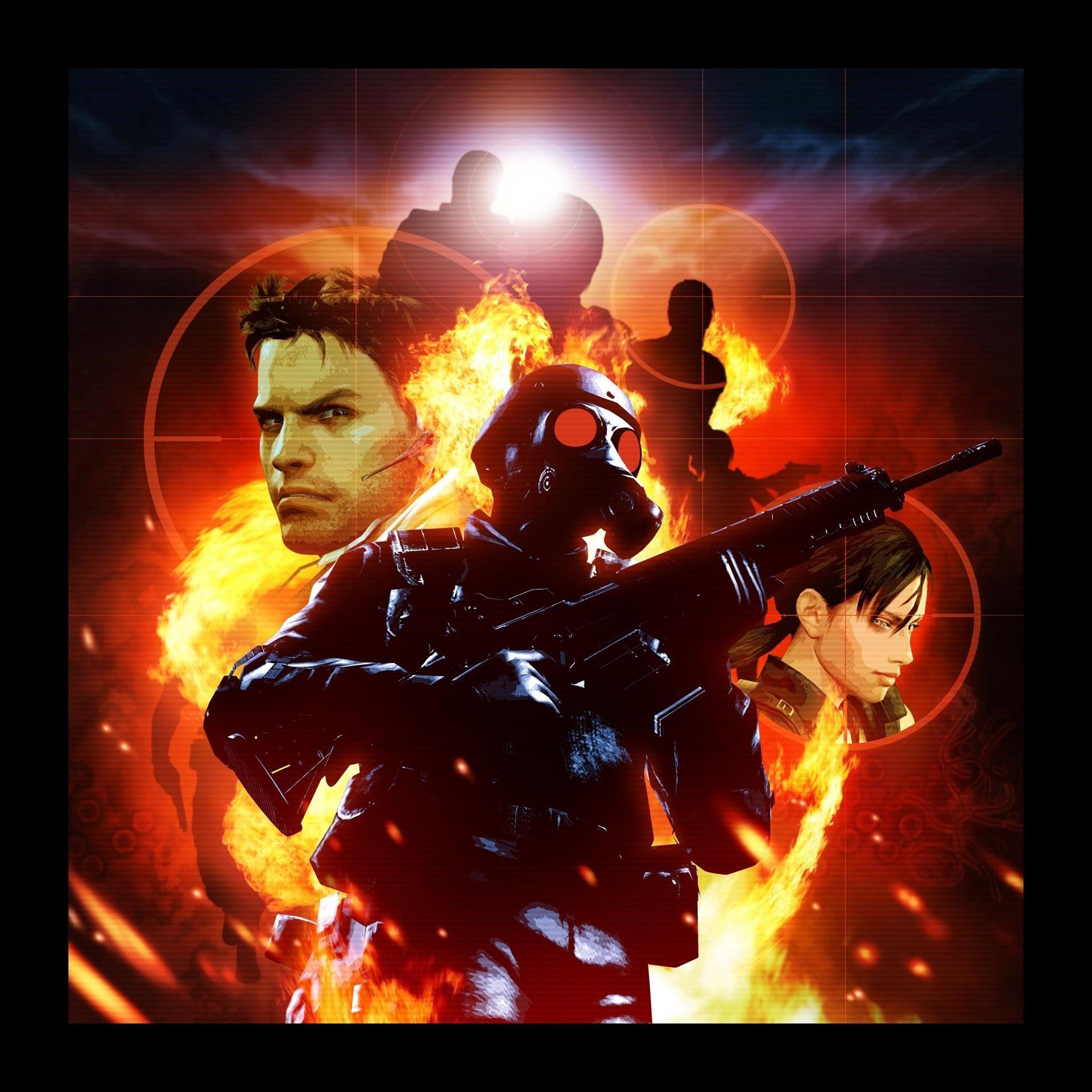 Resident Evil Mercenaries 3D Cover in 2020 Resident evil