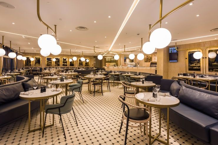 Blacksheep Launches The Gorgeous Kitchen An Escape Within An Escape At Heathrow S New T Gorgeous Kitchens Bar Restaurant Interior Restaurant Interior Design