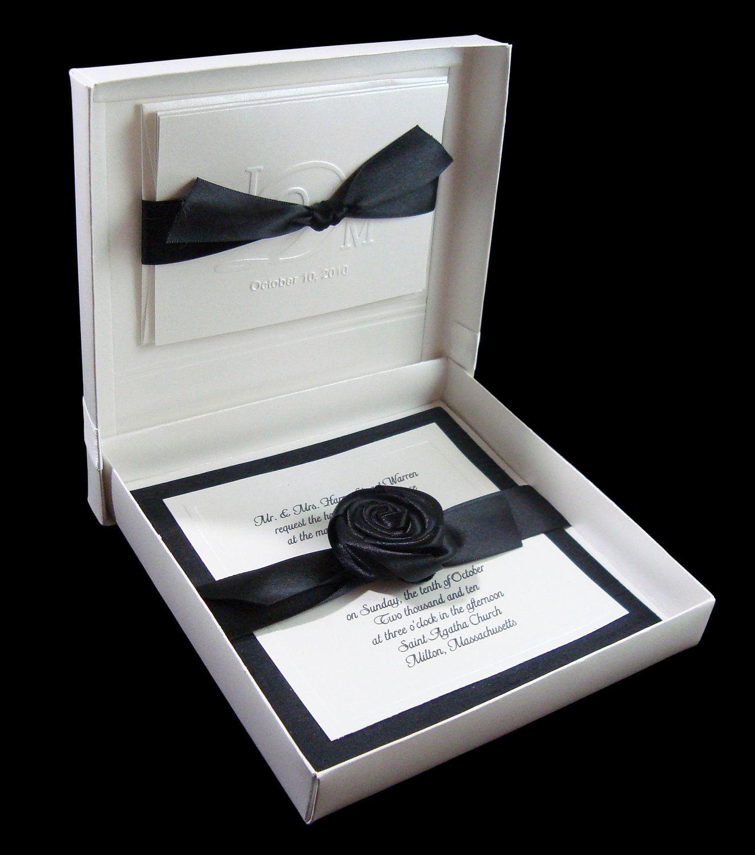 Boxed Wedding Invitation | Stationary | Pinterest | Colour pop ...