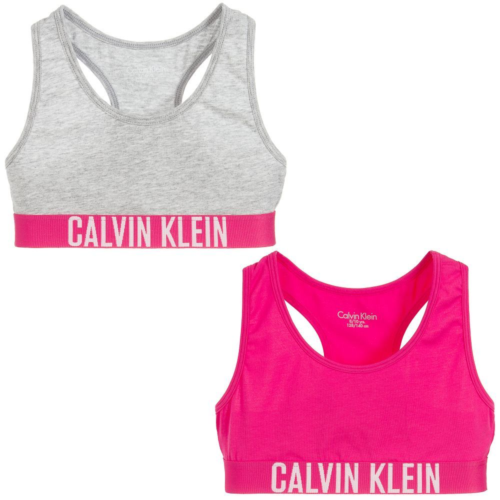 b217360dcd Girls pack of two cropped tops