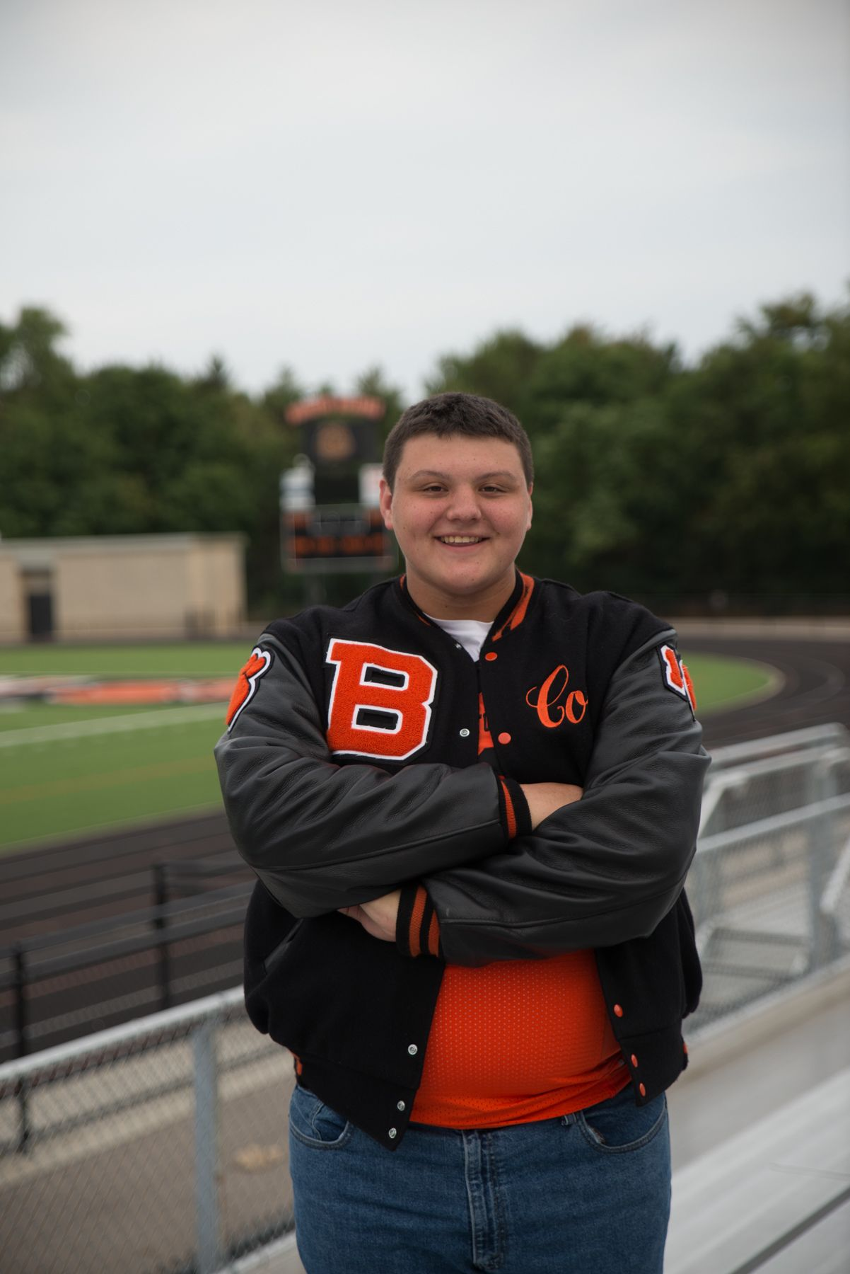 Pin by Bonnie Brubaker on Colin Football senior pictures