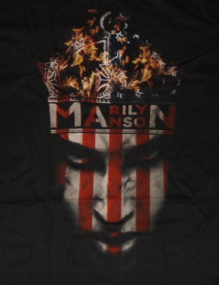 NEW /& OFFICIAL! Marilyn Manson /'Crown/' T-Shirt
