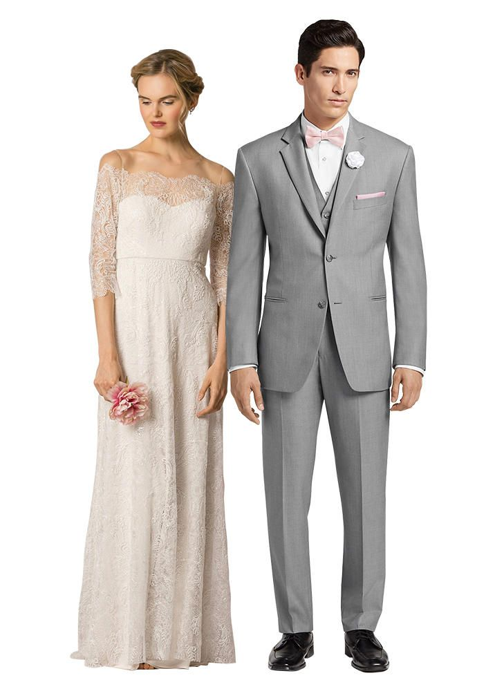 be650cc83b 9 Perfect Dress and Suit Combos for Every Wedding Style   6. Romantic Rustic