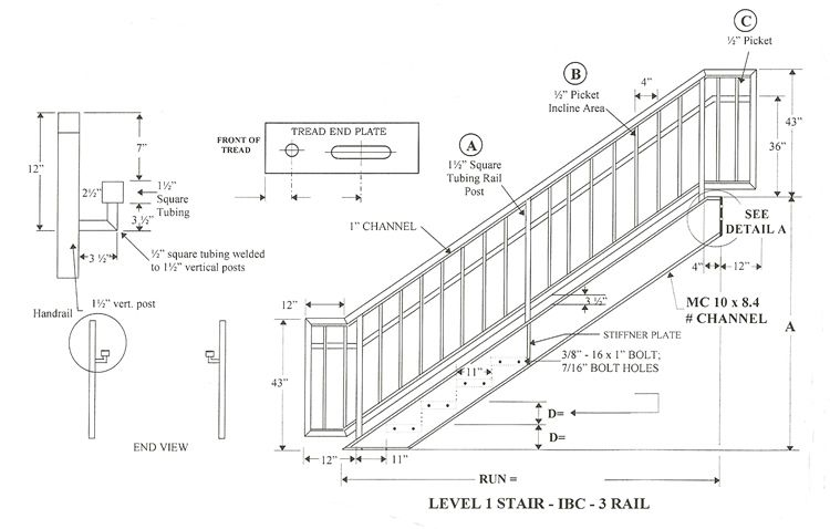 Lapeyre Stair Steel Stair Systems Are Manufactured For Simplicity Of Design  And Overall Cost Effectiveness. Description From Yourkitchenworks.com.