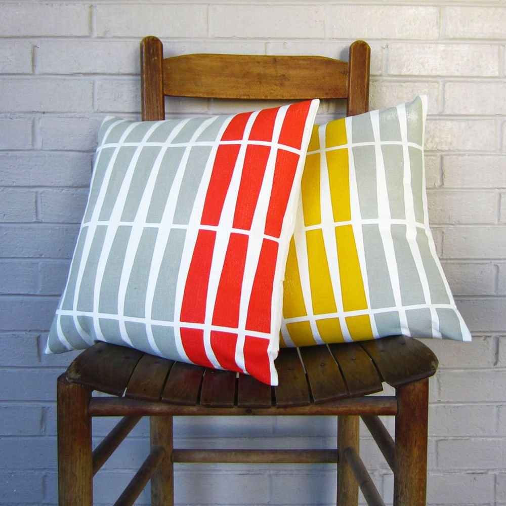 Color Rhythm Pillow Cover