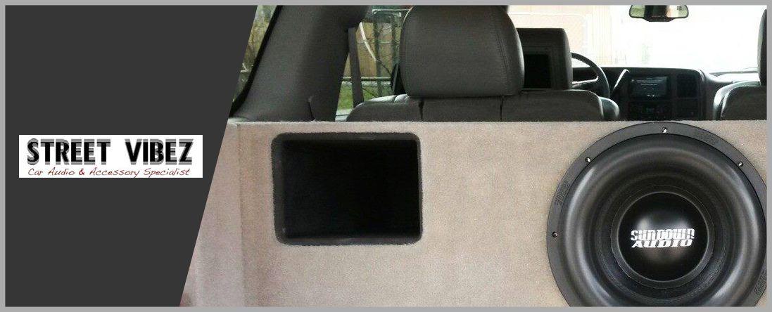 Car Audio at Street Vibez AutoWindowTinting