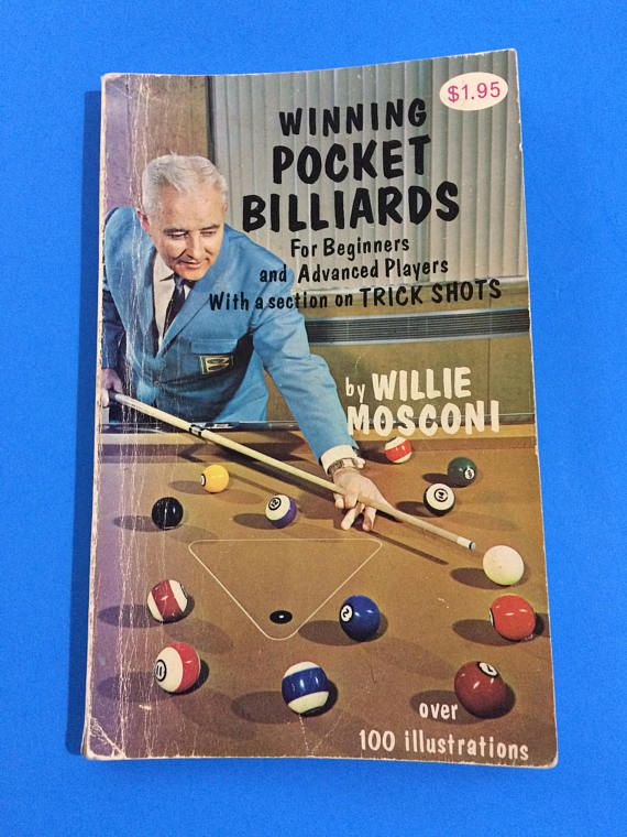 Winning Pocket Billiards Willie Mosconi Pool Table Sport Cue - Mosconi pool table