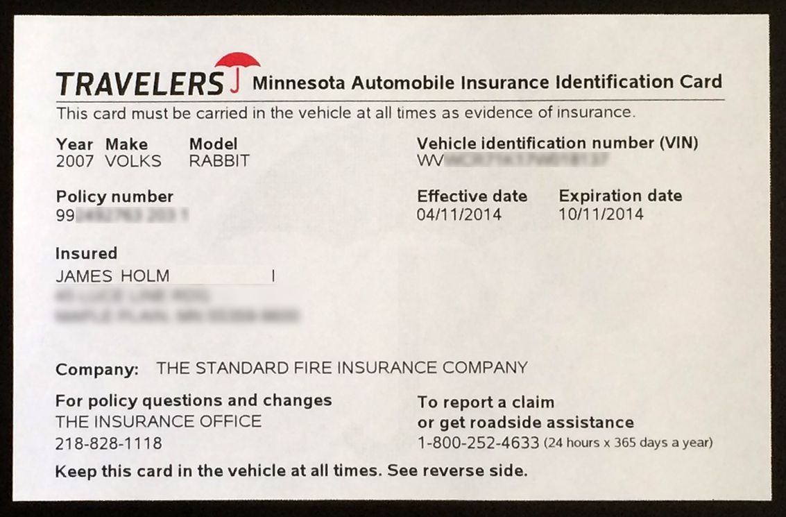 Proof Of Auto Insurance Template Free In 2020 Car Insurance