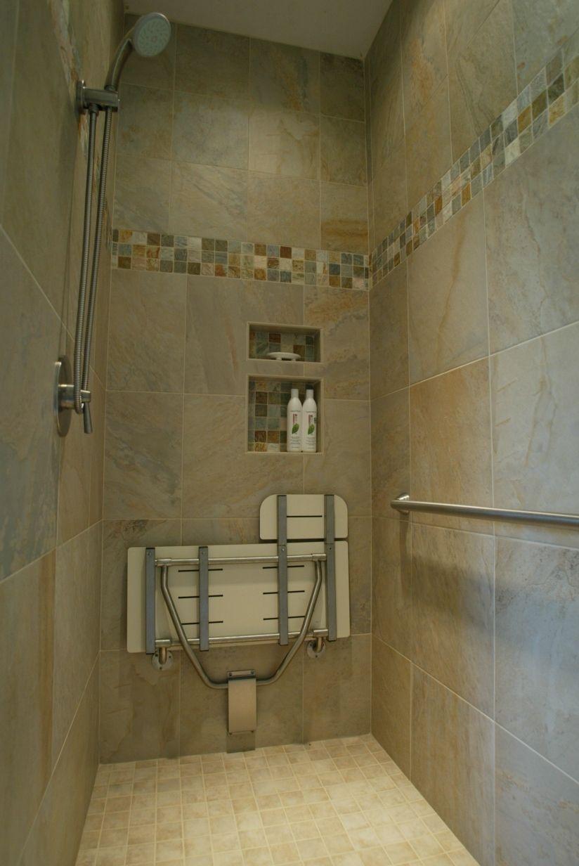 Handicap Bathroom Vanity Cabinet Porcelin Tile And Other Features In Master Bath General