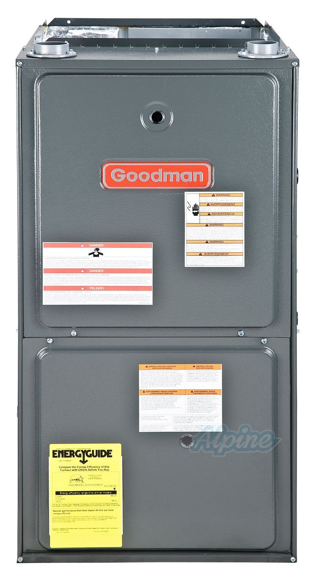 Goodman 96 60 000 Btu Gmvc960603bn Up Horizontal Furnace Hvac Locker Storage Filing Cabinet Variables