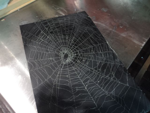 spider web art tips