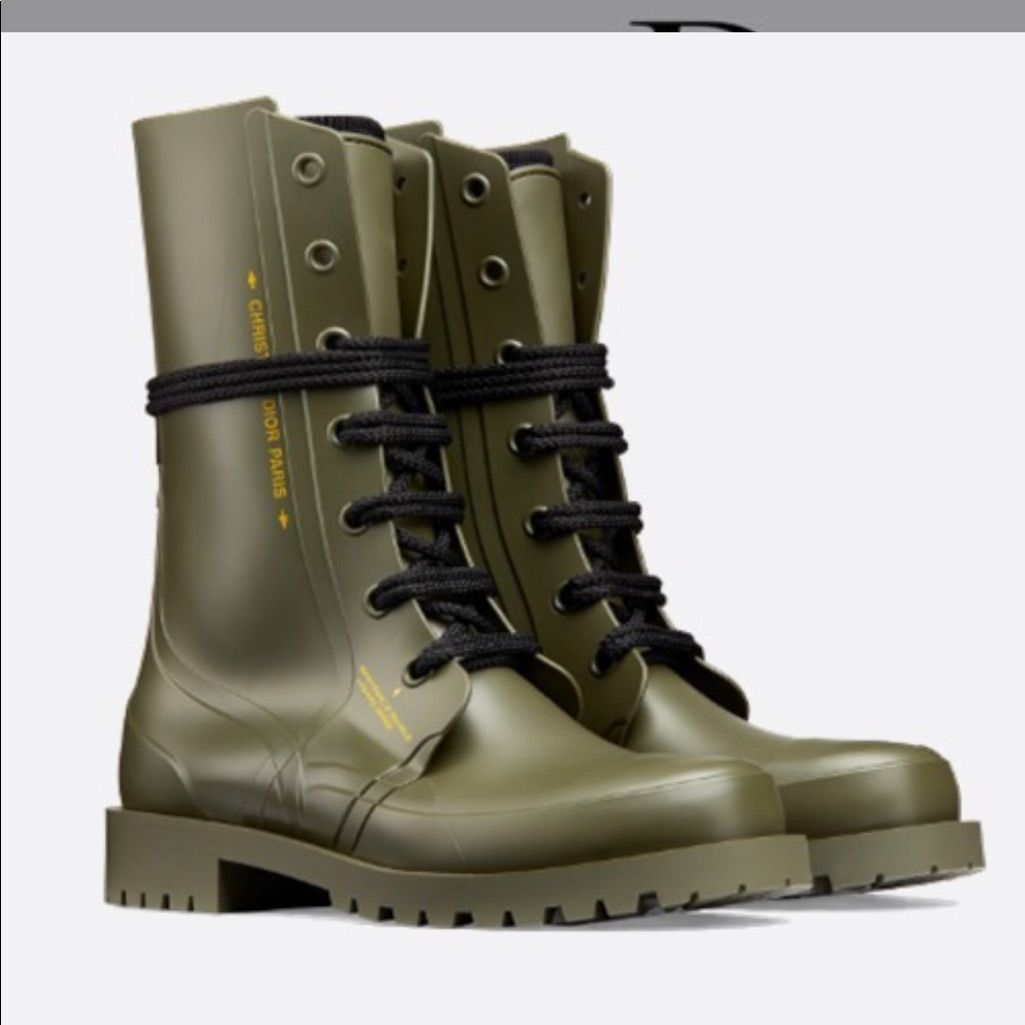 christian dior 2019 rain boots   Boots