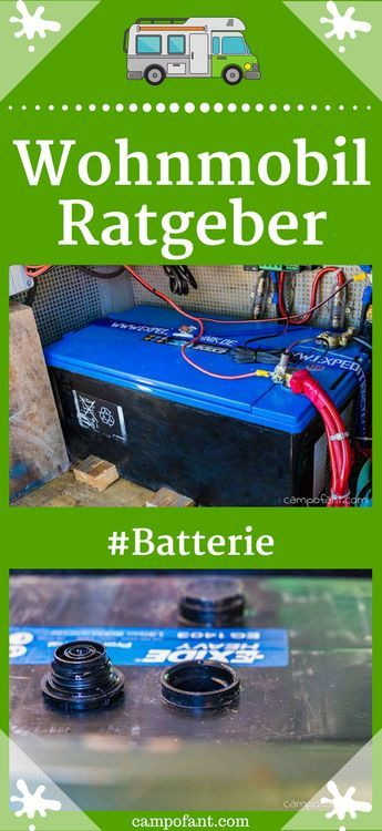 Photo of Battery in the motorhome: guide for supply batteries – Campofant