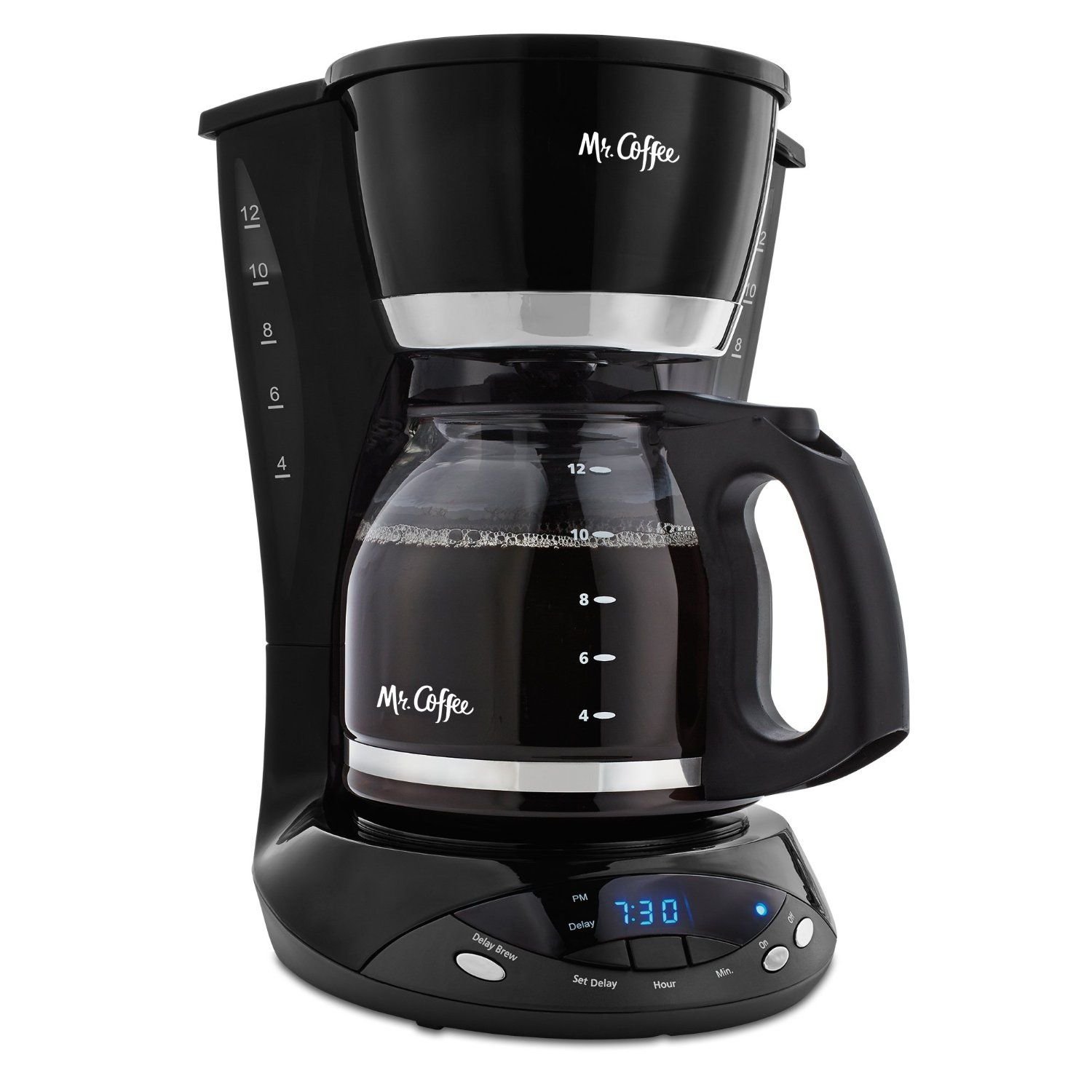 Mr Coffee DWX23 12 Cup Programmable Coffeemaker Black Tried it