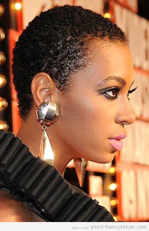 Twa Hairstyles For Oval Face Solange Knowles Natural Hair
