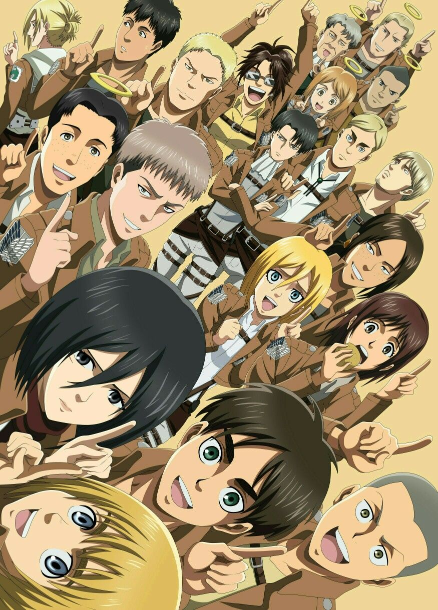 Shingeki No Kyojin Anime Kawaii Anime Personagens De Anime