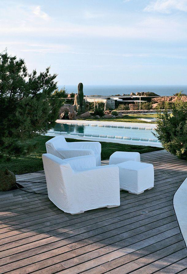 Jurnal de design interior - Amenajări interioare : Casă de vacanță în Sardinia