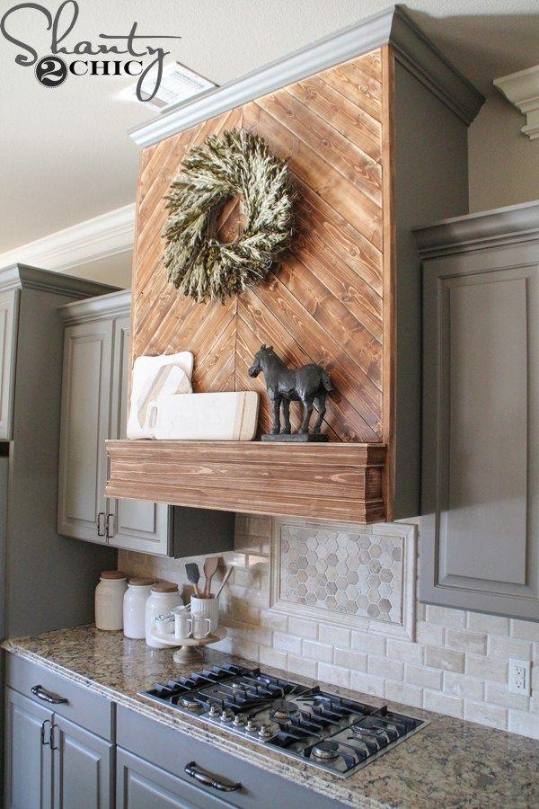 diy wooden vent hood kitchen vent kitchen vent hood wooden vent hood on outdoor kitchen vent hood ideas id=57586