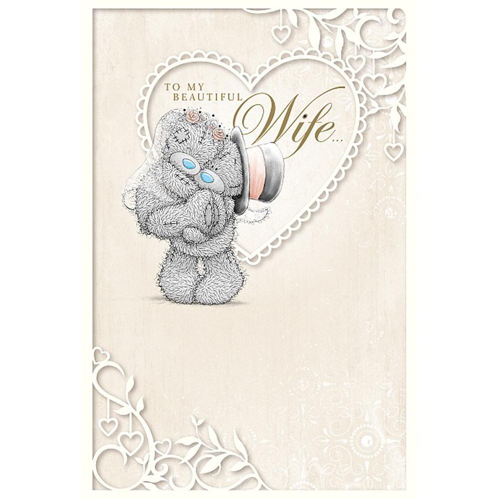 To My Beautiful Wife Me to You Bear Wedding Card £3.99 | Teddy bears ...
