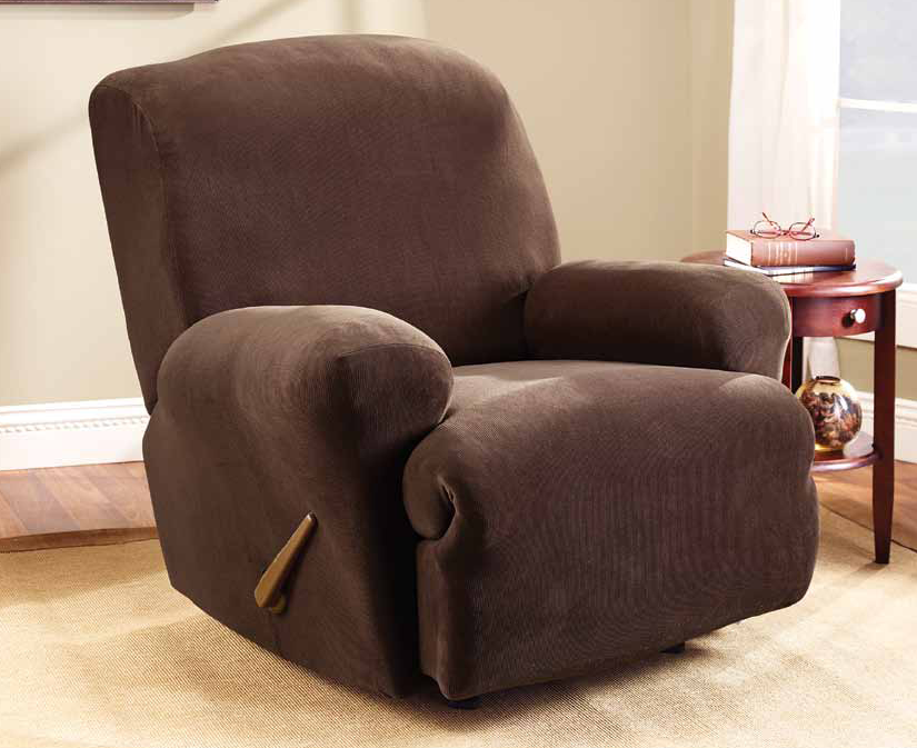 Right Buy - Sure Fit Recliner Chair Cover, $92.00 (http://www.rightbuy.com.au/sure-fit-stretch-recliner-cover-1-seater/)