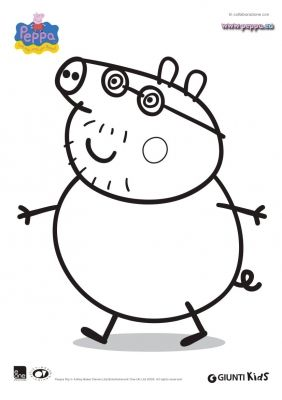 Category Colorare Peppa Pig Image Disegno Di Papa Pig Da Colorare Home Decor Decals Home Decor Decor