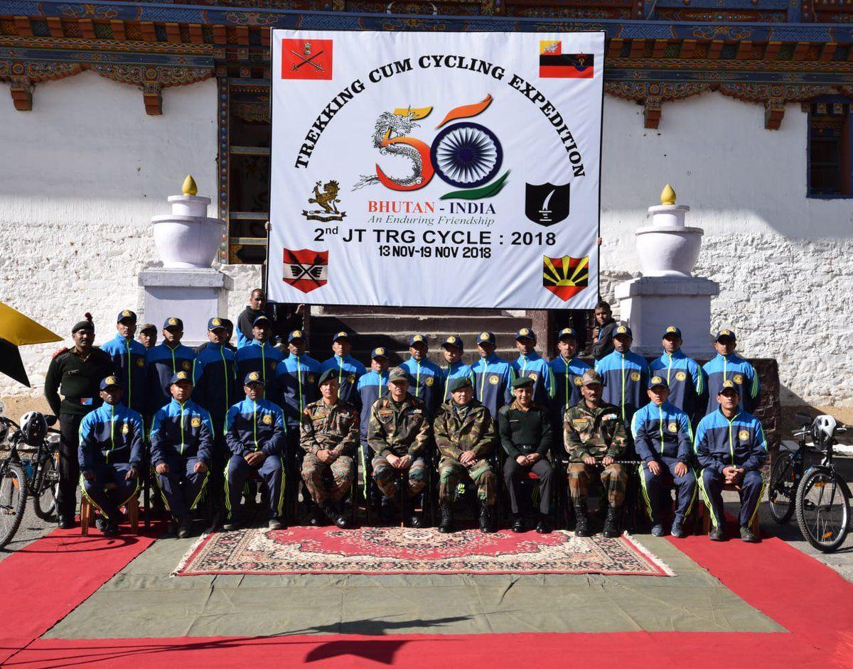 Adg Pi Indian Army On Indian Army Bhutan Army