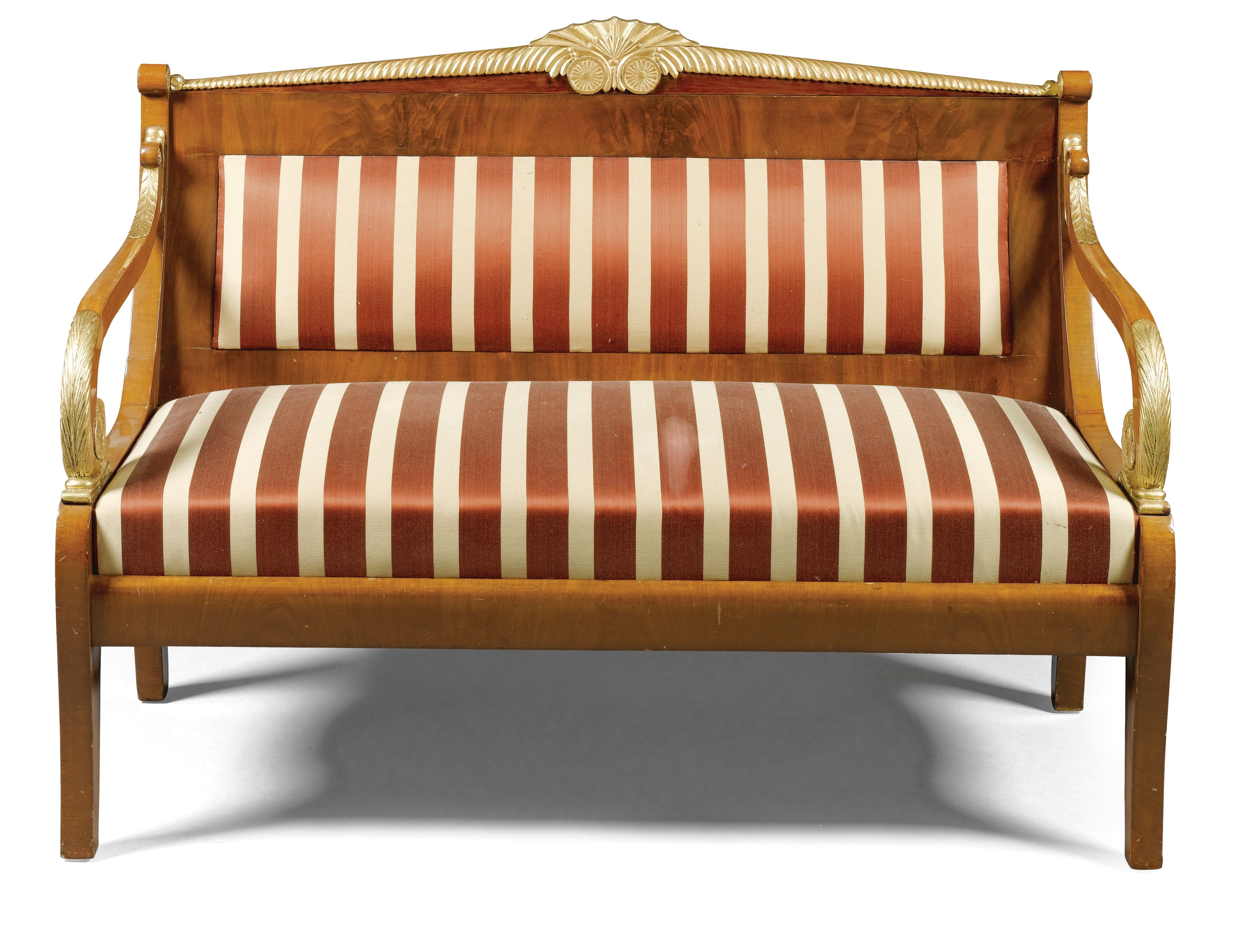 18th 19th Century Russian Neoclassical Sofa Couch