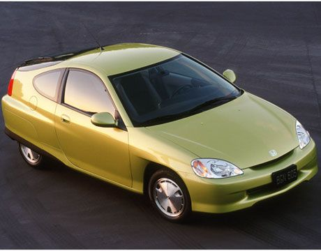 Top 5 Rated Fuel Efficient Used Cars 2000 01 Honda Insight