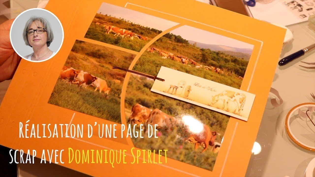 Page Nature   Scrapbooking   Dominique Spirlet ...
