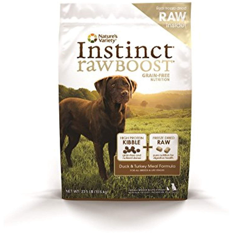Instinct Raw Boost Grain Free Duck Dogs Raw Dog Food Recipes