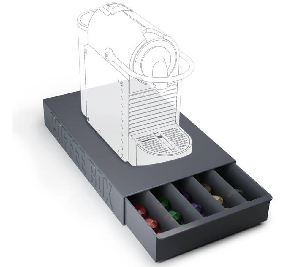 tiroir range capsules et dosettes cafe