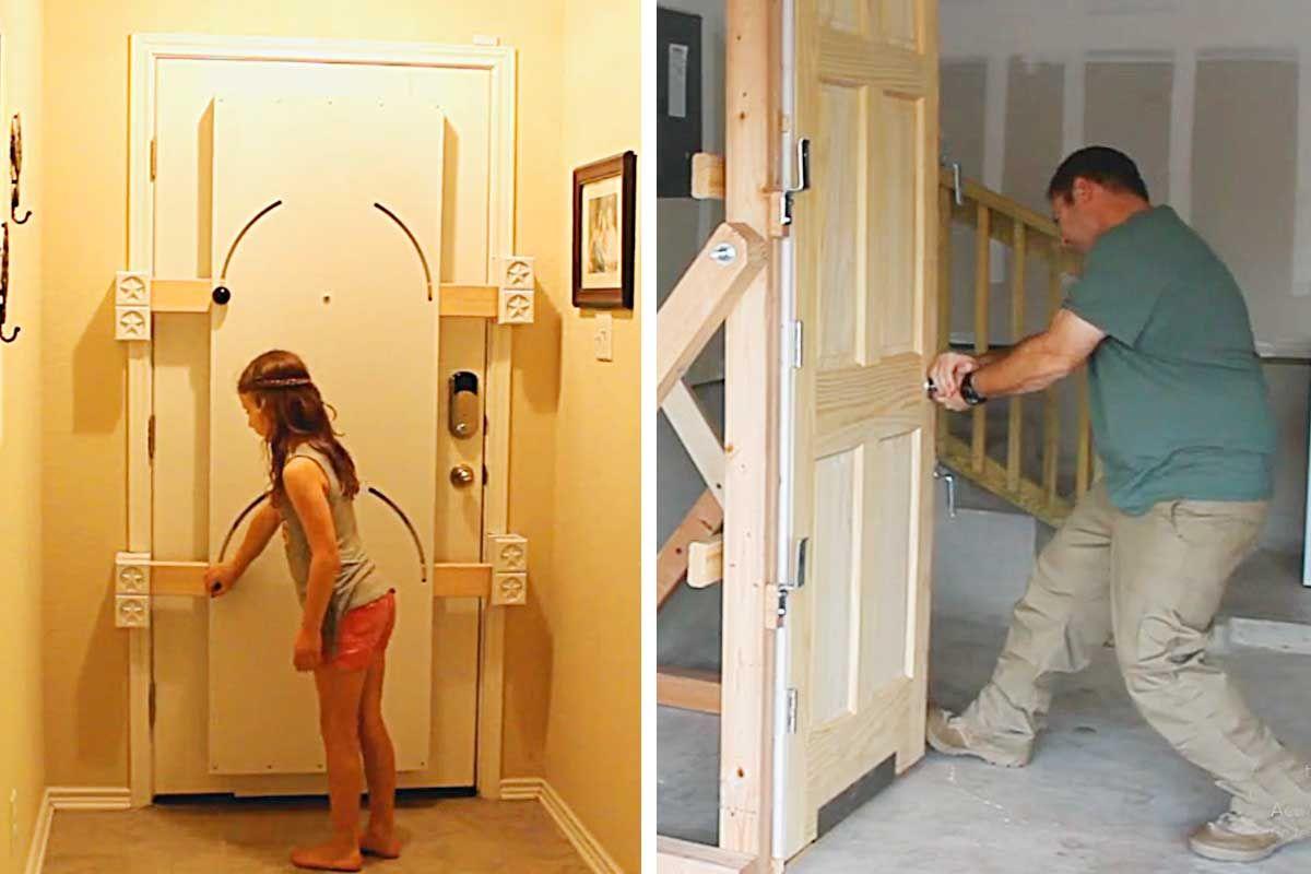 This Door Locking Device Stops Intruders Havenshield Door Barricade Thesuperboo In 2020 Door Lock Security Doors Home Safety