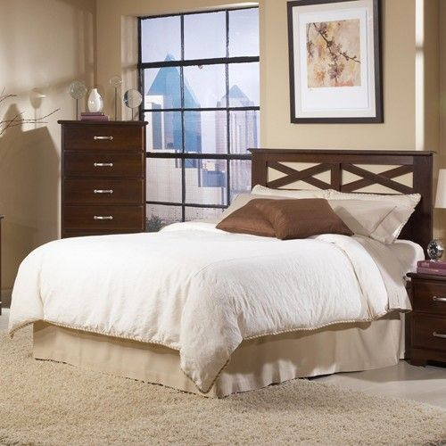 Davenport Contemporary Full/Queen Headboard by Harden Manufacturing ...