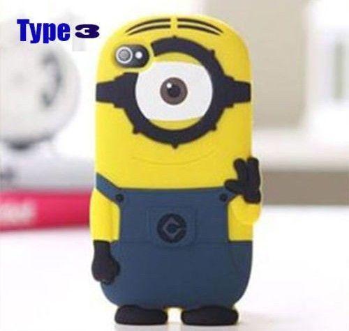 Despicable Me 3D Yellow Minion Cover