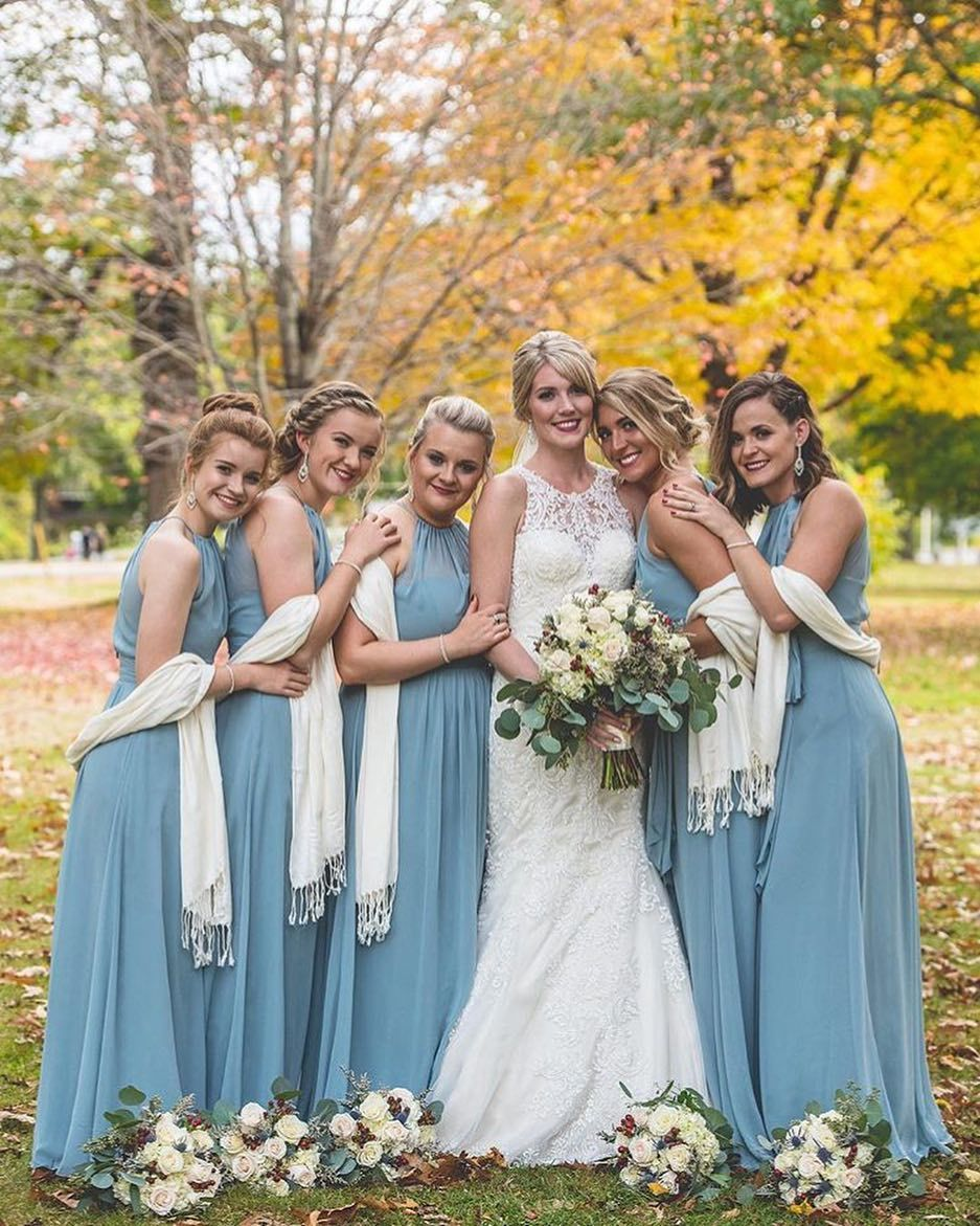 Soft And Ethereal Hy Bridesmaids Bride Style 6704 In Icelandic Dessygroup