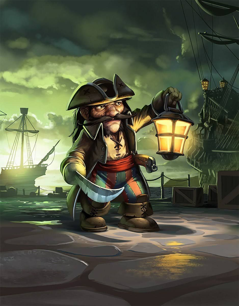 Pin by Lee on Fantasy art | Warcraft art, Hearthstone artwork, Pirate art