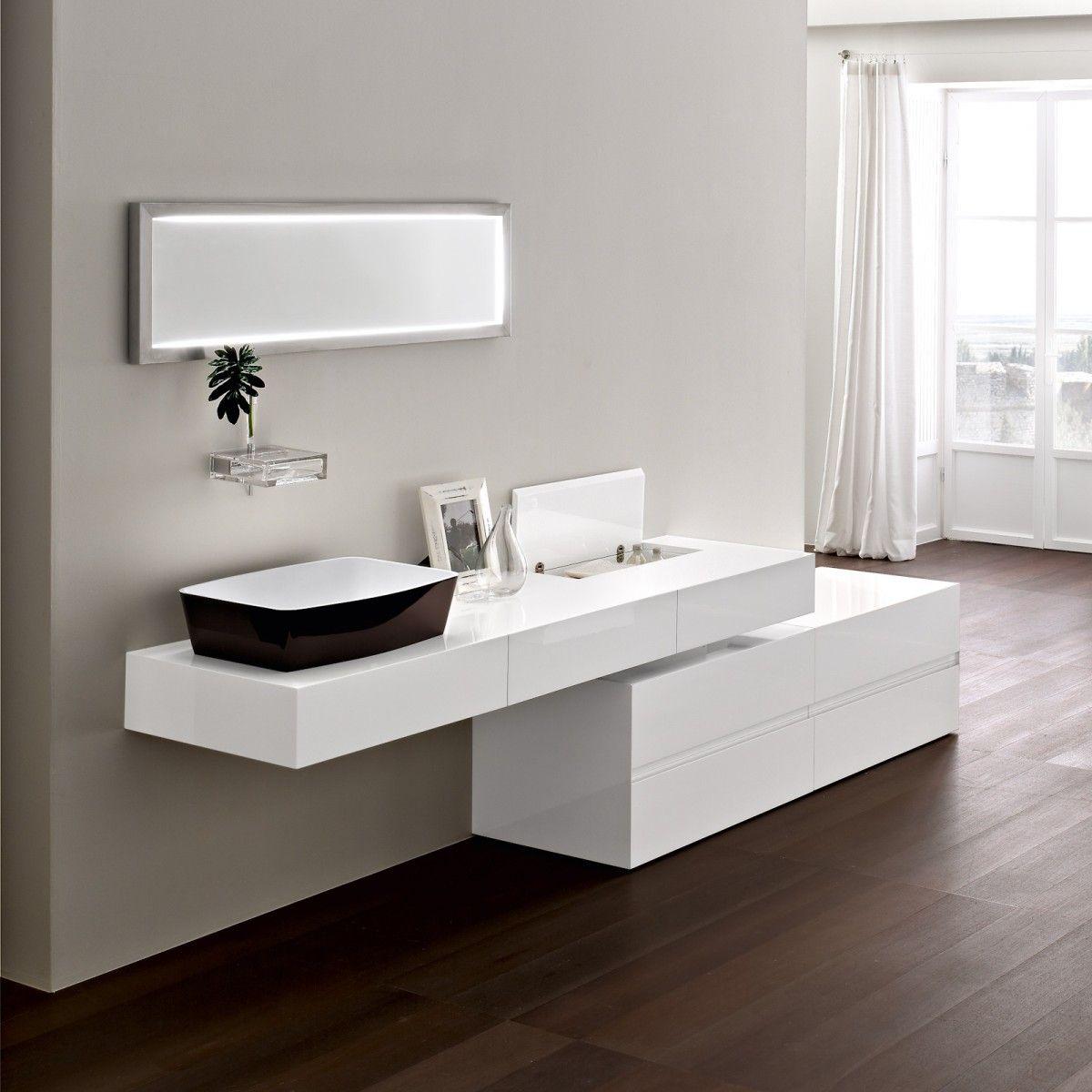 7 Dise Os De Cuartos De Ba O Ultra Modernos Actualiza La  # Muebles Figuras Y Formas
