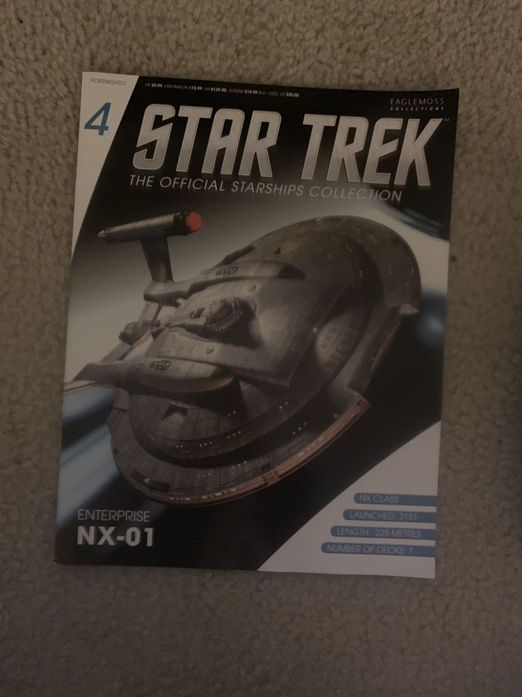 Star Trek Enterprise NX-01 with Magazine Issue #4 by Eaglemoss