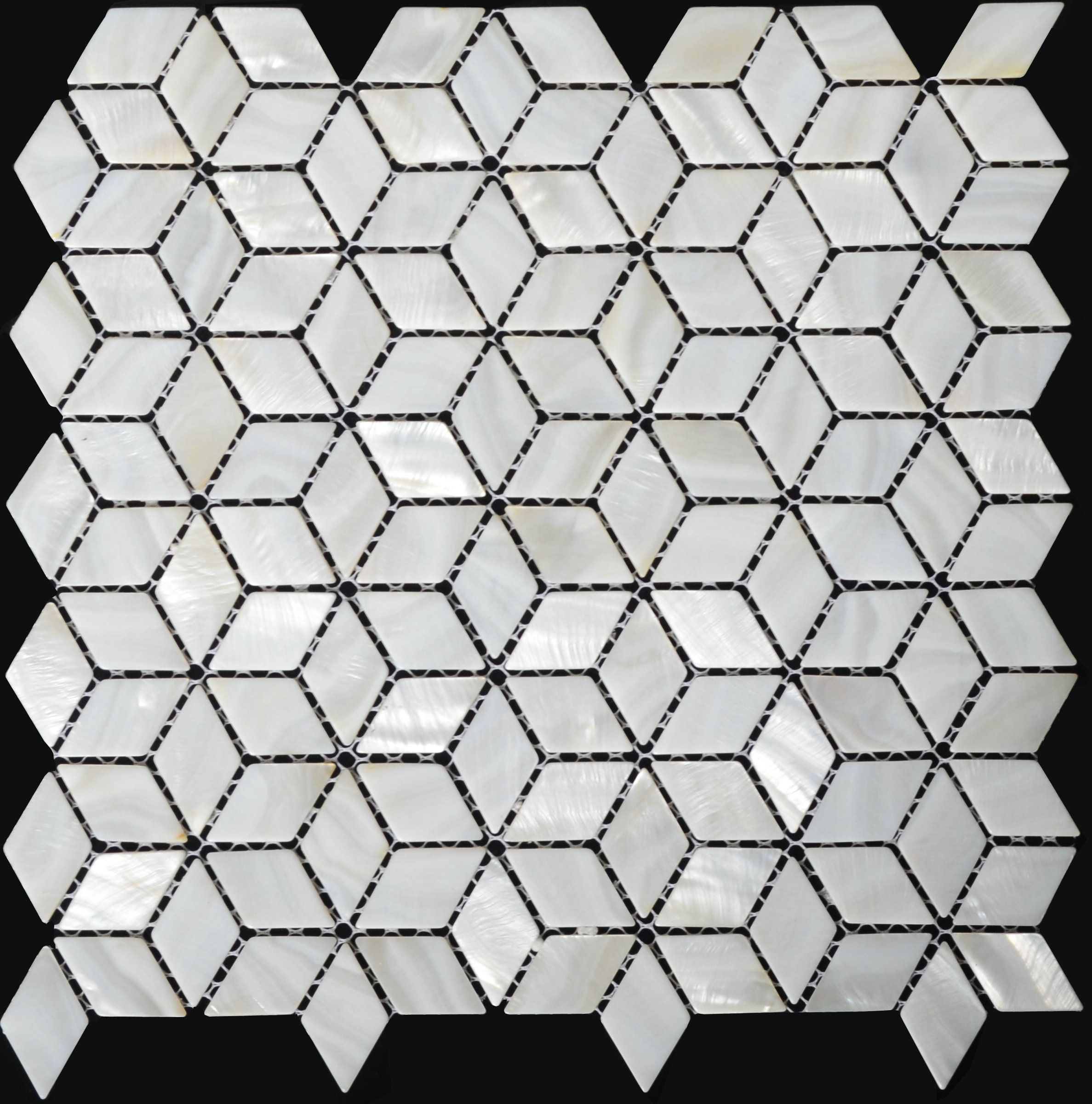 Mother of pearl tile kitchen backsplash shell mosaic bathroom tiles ...